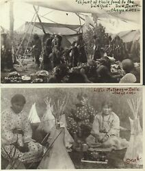 Julia Tuell / Set Of 13 Photographs Of The Cheyenne