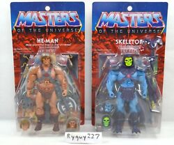 Motuc He-man And Skeletor Masters Of The Universe Classics Ultimates Figures