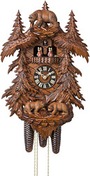 Cuckoo Clock Bears In The Forest