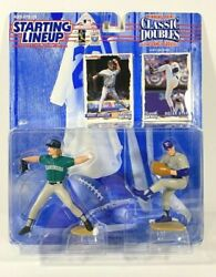 New1997 Starting Lineup Figures Randy Johnson And Nolan Ryan -classic Doubles