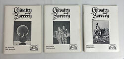 Chivalry And Sorcery Rpg Lot Of 3 1977 1983 Vintage Fantasy Games Unlimited