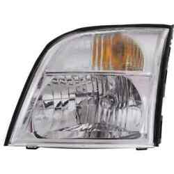 Headlight For Mercury Mountaineer 2006 Driver Oe Replacement Halogen W/ Bulbs