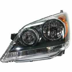Headlight For Honda Odyssey 08-10 Driver Or Left Oe Replacement Halogen W/ Bulbs