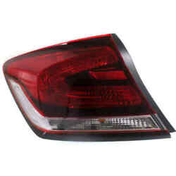 Taillight For Toyota Sienna 2011-2014 Driver Side Oe Replacement Halogen W/bulbs