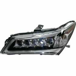 Headlight For Acura Mdx 2014-2016 Driver Or Left Oe Replacement Halogen W/ Bulbs