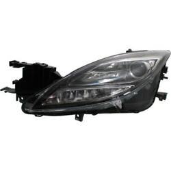 Headlight For Mazda 6 09-10 Driver Or Left Oe Replacement Hid/xenon W/o Bulbs