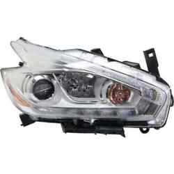 Headlight For Nissan Murano 17 Passenger Or Right Oe Replacement Halogen W/bulbs