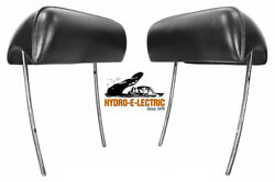 New 1968-1972 Buick Skylark Special And Gs Bucket Seat Headrest - Pair