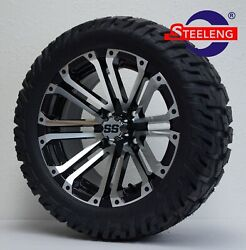 Golf Cart 14 Lancer Wheels/rims And 22 'gator' All Terrain Tires Dot Rated