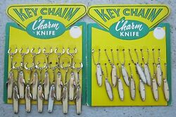 Vintage Charm Folding Pocket Knives New Old Stock Store Display 24 Total Lot