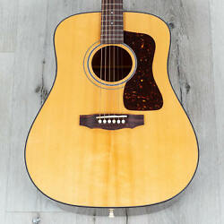 Guild D-40 Traditional Dreadnought Acoustic Guitar Sitka Spruce Top B-stock