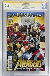 Avengers 1 - Signed By Joss Whedon, Cgc 9.4, Sig Series