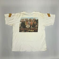 The Beatles Sgt Peppers Lonely Hearts Club Band Vintage T-shirt Apple Licence