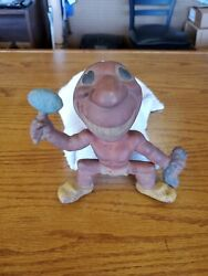 Vintage Rempel Rubber Toys Cleveland Indians Chief Wahoo Squeak Toy
