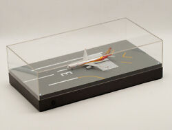 Jc Wings Aircraft Runway Display Box With Lights And Dust Cover 31 1/400 1/500