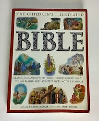 Childrens Illustrated Bible Classic Old + New Testament Stories Retold Paperbac
