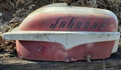 Vintage 35 Hp Johnson Outboard Motor Cover Cowl Cowling Hood 1950and039s