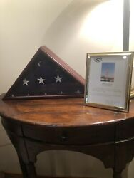 Green Bay Packers Game Flown american Flag over Lambeau Field sept. 17, 2000