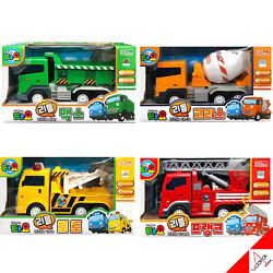 Tayo Little Bus Heavy Equipment Little Toto,max,chris,frank Friction Car Toy