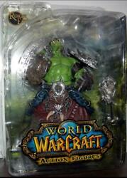 World Of Warcraft Orc Shaman Rehgar Action Figure Toy Earthfury Series 1 New