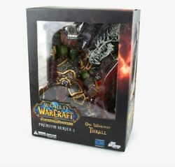 World Of Warcraft Orc Warchief Thrall Shamman Action Figure Toy Premium Series 2