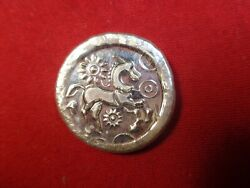 1 Troy Ounce .999 Silver. Hand Poured/ Stamped Horse Design Ingot Mfs