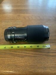 Rmc Tokina 80-200mm Camera Zoom Lens 14 Serial8301390 Popular 55mm 1a Untested