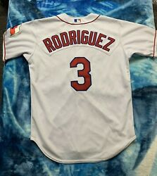 Vintage Authentic Alex Rodriguez Texas Rangers Jersey 44 Large Rawlings Rare