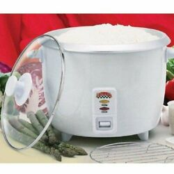 Bene Casa Rice Cooker And Food Steamer Measuring Cup Serving Spoon And Steaming Tray