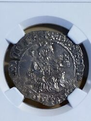 1309-43 Italy 1 Gigliato Naples Robert Dand039anjou Graded Ms62 By Ngc