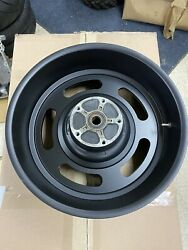 2008 Oem Harley-davidson 18x8 V-rod Vrscdx Slotted Black Rear Wheel Used