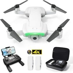 Holy Stone Hs510 Gps Drone For Adults With 4k Uhd Wifi Camera Quadcopter 2 Batt.