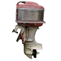 1958 Mercury Mark 58 Electric Start Vintage Classic Antique Outboard Motor