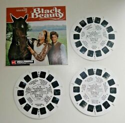 The Adventures Of Black Beauty 1973 Gaf Viewmaster Reels Set D135 Rare H191