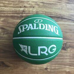 Lifted Research Group Spaulding Exclusive Game Basketball Kelly Green Rare