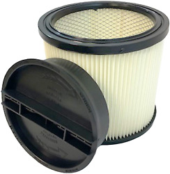Replacement Filter W/ Lid For Shop-vac 90304, 90350, 90333 5+ Gallon Wet/dry Vac
