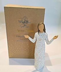 Willow Tree Everyday Blessings Angel Figurine 27823 Signature Collection Gold