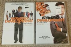 Arrested Development - Season 2 And 3 Brand New Factory Sealed Dvd Lot