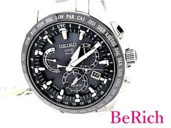 Seiko Astron Sbxb045 8x53-0ab0-2 World Time Menand039s Sb470 From Japan N0316