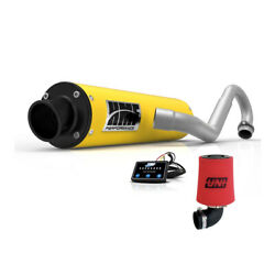 Hmf Can-am Outlander 800 Xmr 2011 2012 Yellow/blk Full Exhaust And Efi Uni