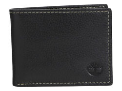 Menand039s Core Sportz Genuine Leather Slimfold Wallet
