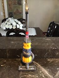 Kids Yellow Dyson Ball Toy Vacuum With Real Suction And Sounds By Cadson