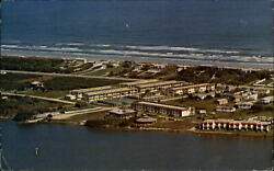 Pelican Inlet Condo St Augustine Florida Fl Aerial View Mailed 2004