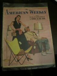 The American Weekly St Paul Sunday Pioneer Press July 1953 Furniture Shopping