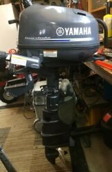 Yamaha 4hp/4-stroke Outboard 20 Long Shaft Easy Upgrade To 5/6hp For Sale