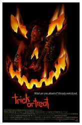 Trick Or Treat 1986 Original Movie Poster - Rolled