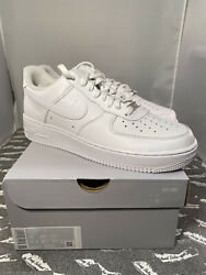 New Nike Air Force 1 Low White And03907 [315122-111 Cw2288-111] Menand039s Us Size 10
