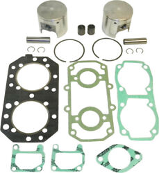 Wsm Complete Oversized Top End Rebuild Kit W/ Pistons Rings Gaskets 010-817-14