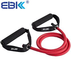 Resistance Bands Resistance Tubes With Foam Handles Exercise Cords For Arms Bic