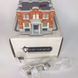 Hawthorne1993 Mayberry Village Courthouse Andy Griffith Show Lights Up 79721